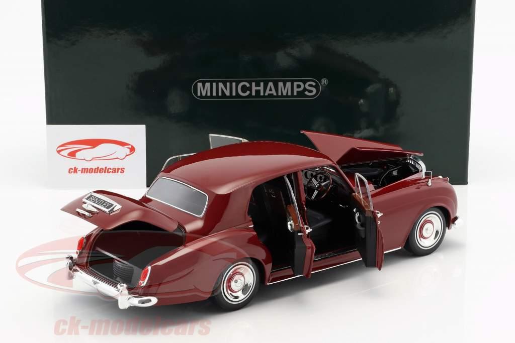 Bentley S2 year 1960 red 1:18 Minichamps