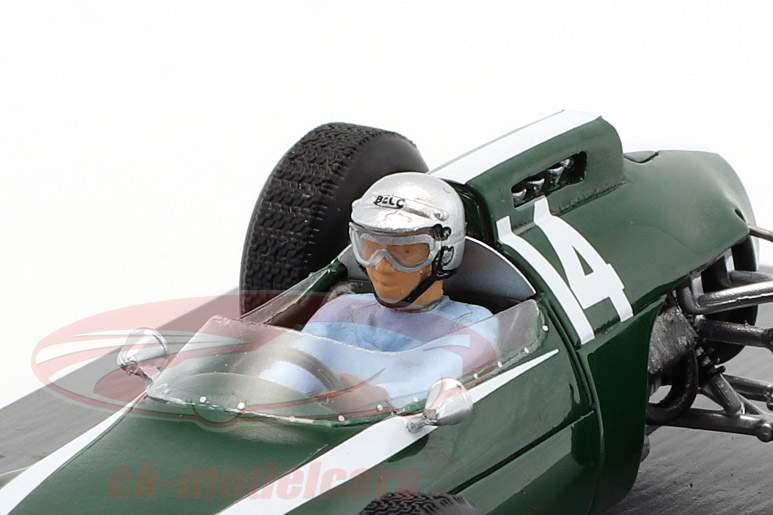 Bruce McLaren Cooper T60 #14 gagnant Monaco GP formule 1 1962 1:43 Spark