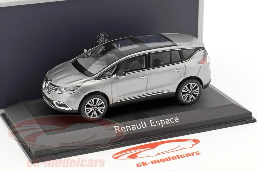 Renault Espace Initiale Paris anno di costruzione 2015 Cassiopee grigio 1:43 Norev