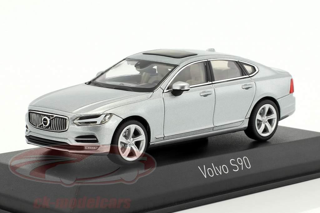 Volvo S90 anno di costruzione 2016 osmium grigio 1:43 Norev