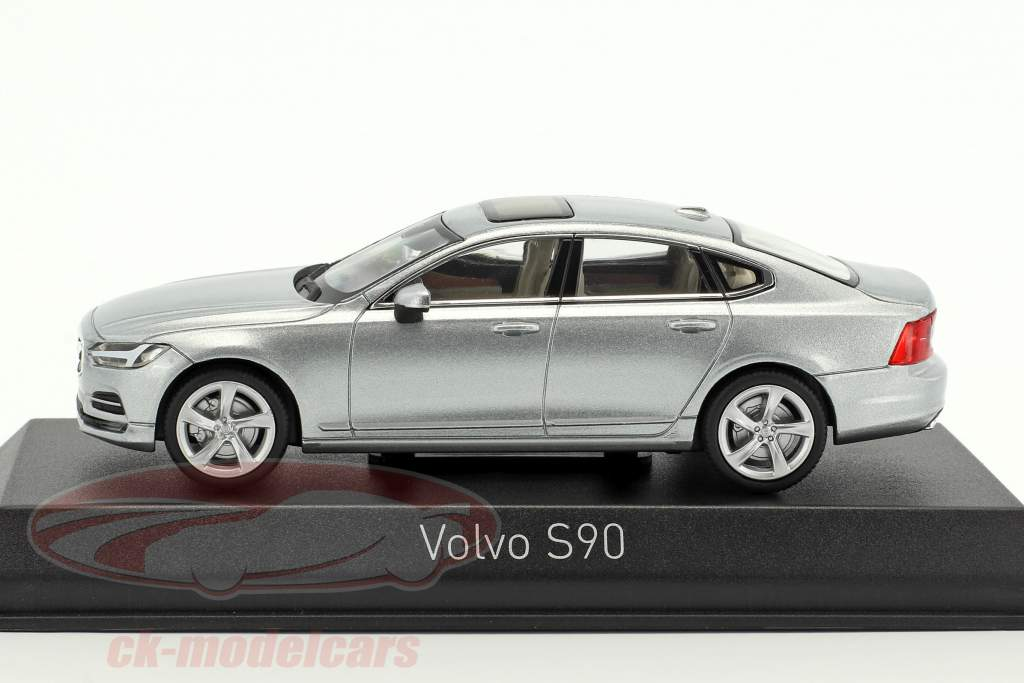 Volvo S90 year 2016 osmium gray 1:43 Norev