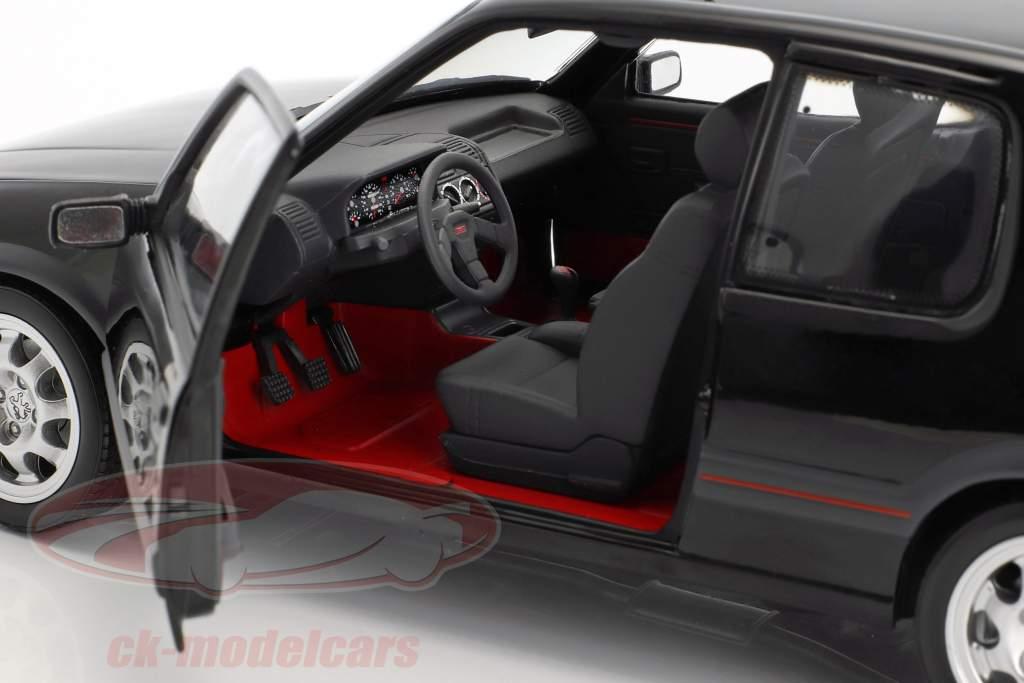 Peugeot 205 GTi 1.9 année de construction 1988 noir 1:18 Norev