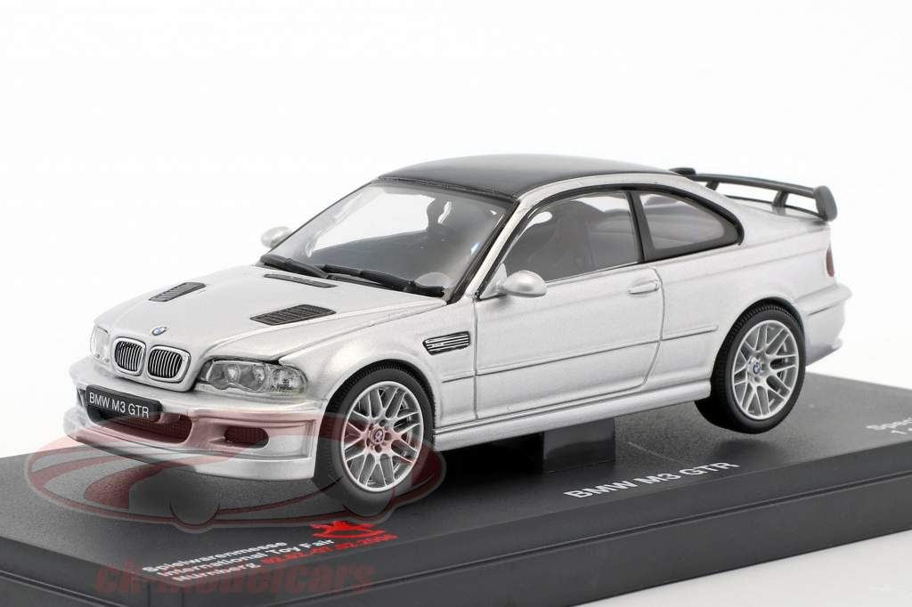 ck modelcars 03531n bmw m3 gtr toyfair n rnberg 2006 silver 1 43 kyosho ean 4955439064375. Black Bedroom Furniture Sets. Home Design Ideas