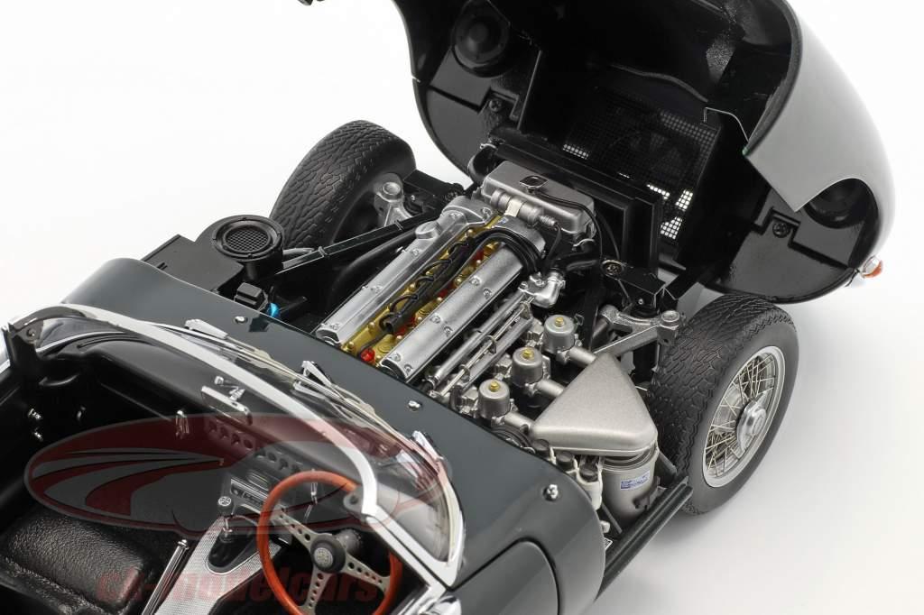 Jaguar E-Type Roadster Series I 3.8 année de construction 1961 britannique courses vert 1:18 AUTOart