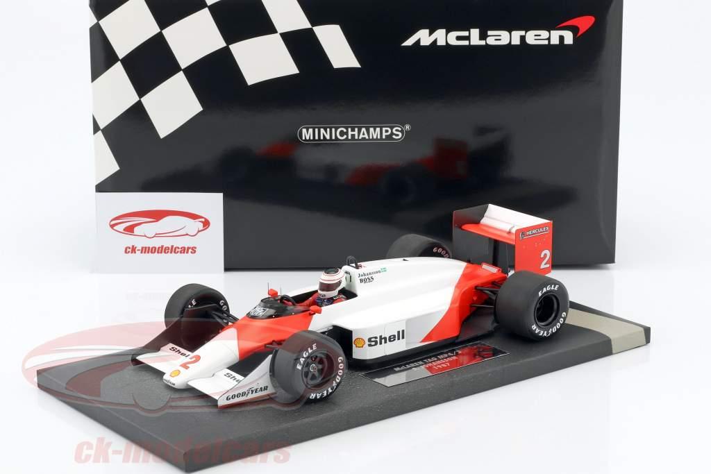 Stefan Johansson McLaren MP4/3 #2 Formel 1 1987 1:18 Minichamps