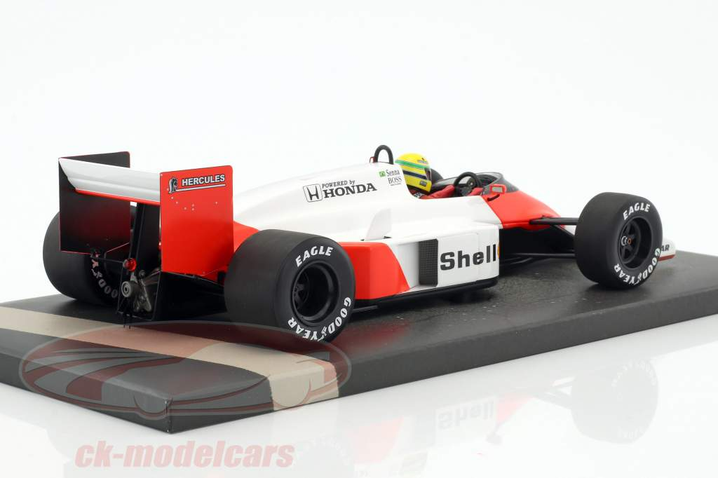 Ayrton Senna McLaren MP4/3 Test Car Formel 1 1987 1:18 Minichamps