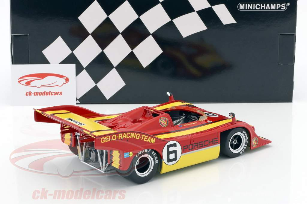 Porsche 917/10 Gelo-Racing-Team #6 Winner Interserie Zandvoort 1975 Tim Schenken 1:18 Minichamps