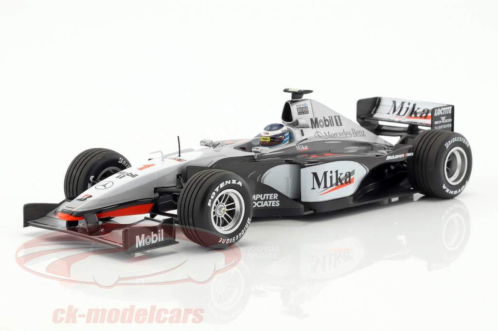 Mika Häkkinen McLaren Mercedes MP4/14 #1 World Champion formula 1 1999 1:18 Minichamps
