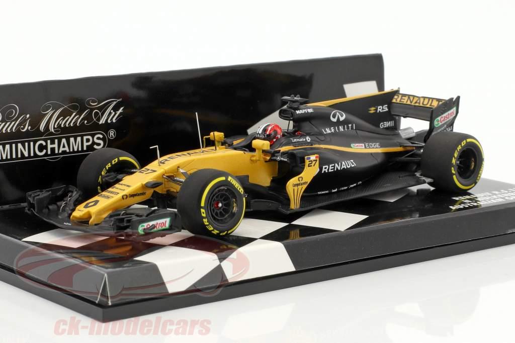 Nico Hülkenberg Renault R.S.17 #27 Australien GP Formel 1 2017 1:43 Minichamps