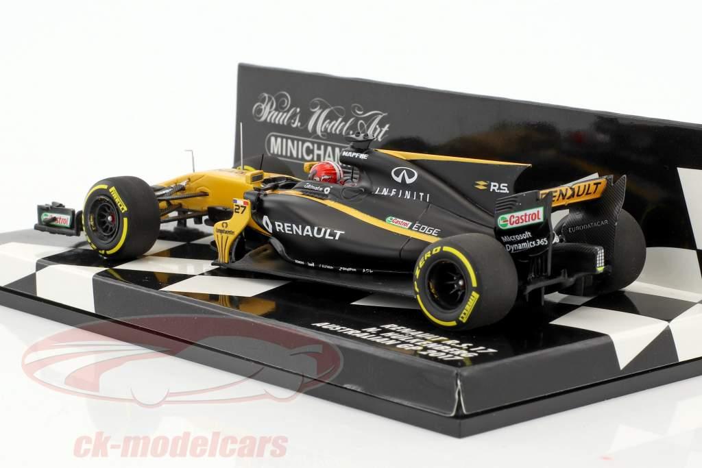 Nico Hülkenberg Renault R.S.17 #27 Australie GP formule 1 2017 1:43 Minichamps