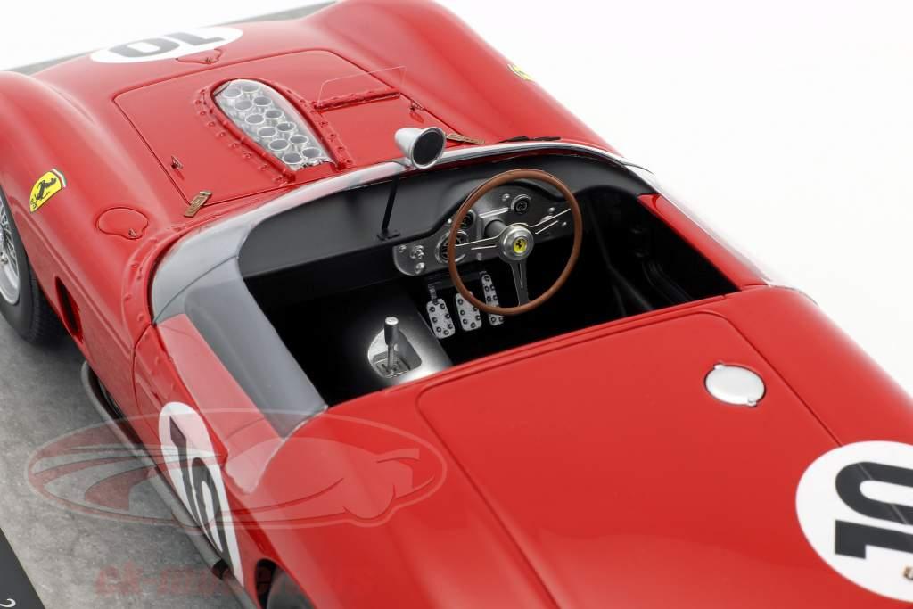 Ferrari 250 TR61 #10 Winner 24h LeMans 1961 Gendebien, Hill 1:18 BBR