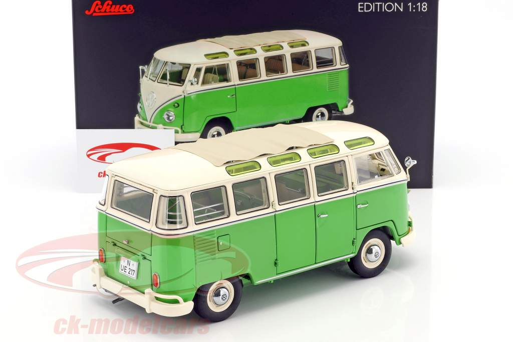 ck modelcars 450028600 volkswagen vw t1 samba bus. Black Bedroom Furniture Sets. Home Design Ideas
