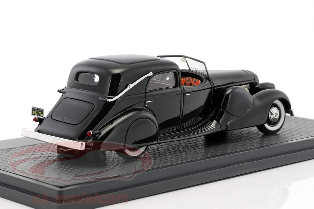 Duesenberg SJ 533-2482 Town Car LWB Bohman & Schwartz Baujahr 1935 schwarz 1:43 Matrix