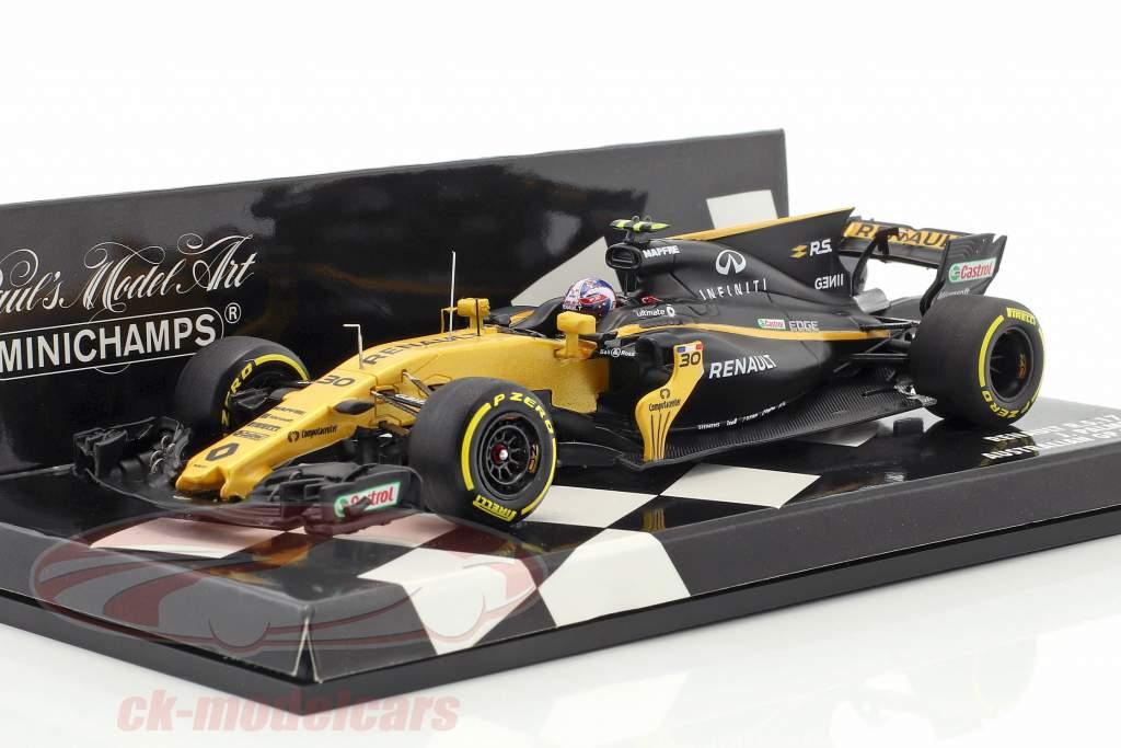 Jolyon Palmer Renault R.S.17 #30 Australie GP formule 1 2017 1:43 Minichamps