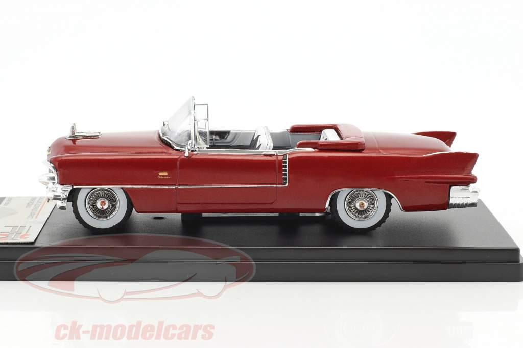 Cadillac Eldorado Biarritz année de construction 1956 pourpre métallique 1:43 Premium X