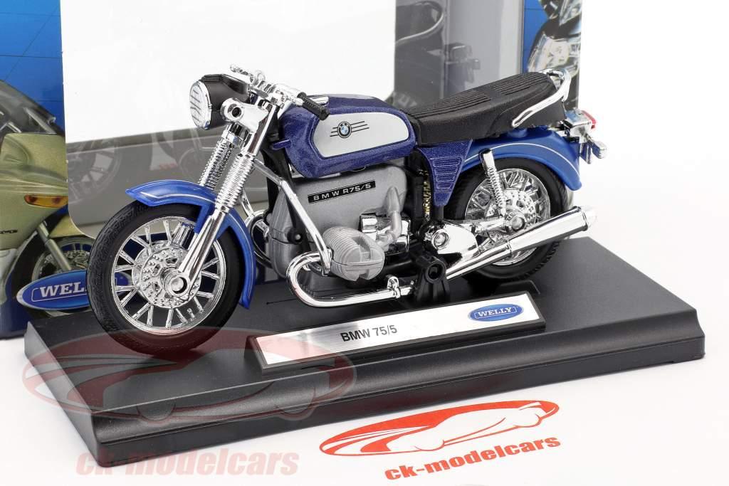 BMW 75/5 blue / silver 1:18 Welly