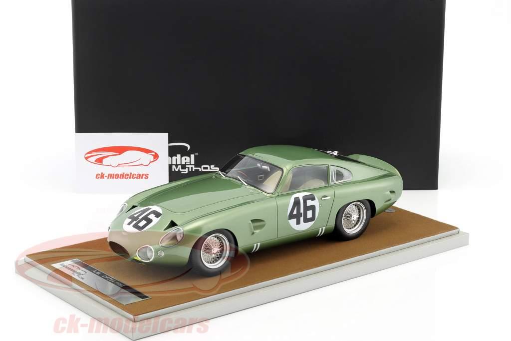 Aston Martin DP 214 #46 gagnant Coppa Intereuropa 1963 Salvadori 1:18 Tecnomodel