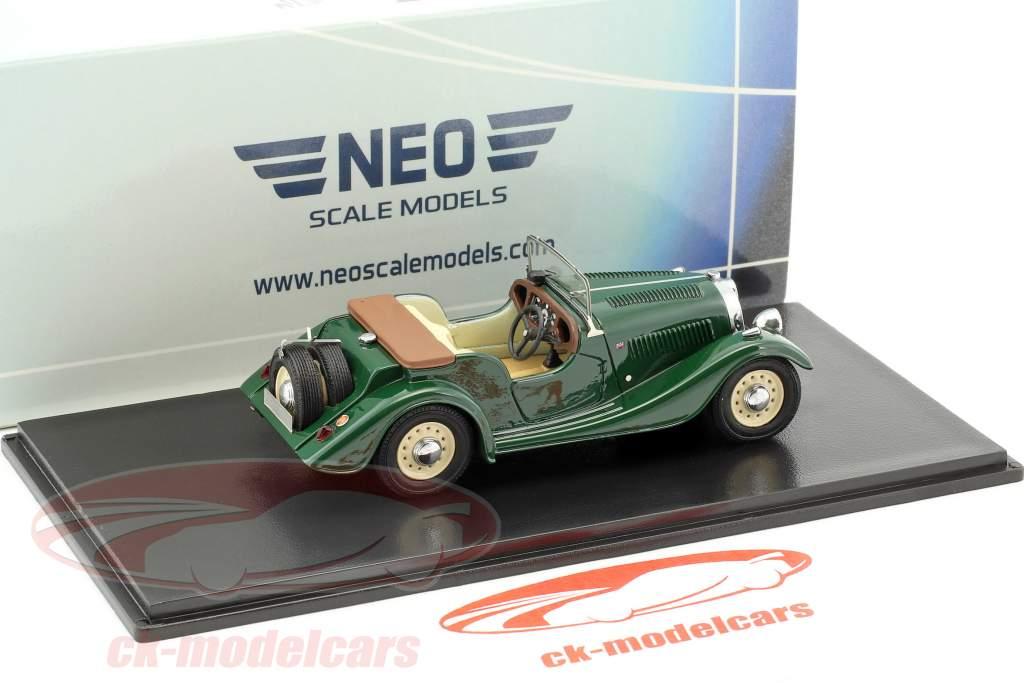 Morgan 4/4 Flat Radiator S1 grün 1:43 Neo
