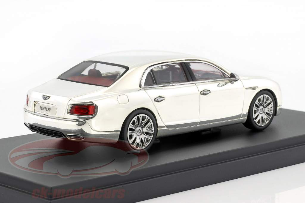 Bentley Flying Spur W12 argent plaqué 1:43 Kyosho