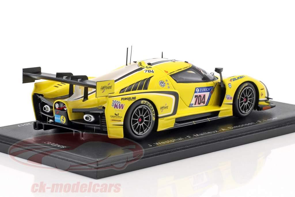 SCG003C #704 pôle position 24h Nürburgring 2017 Traum Motorsport SA 1:43 Spark