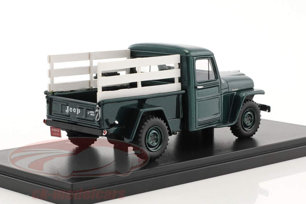 Jeep Pick Up year 1954 green / wood optics 1:43 Neo