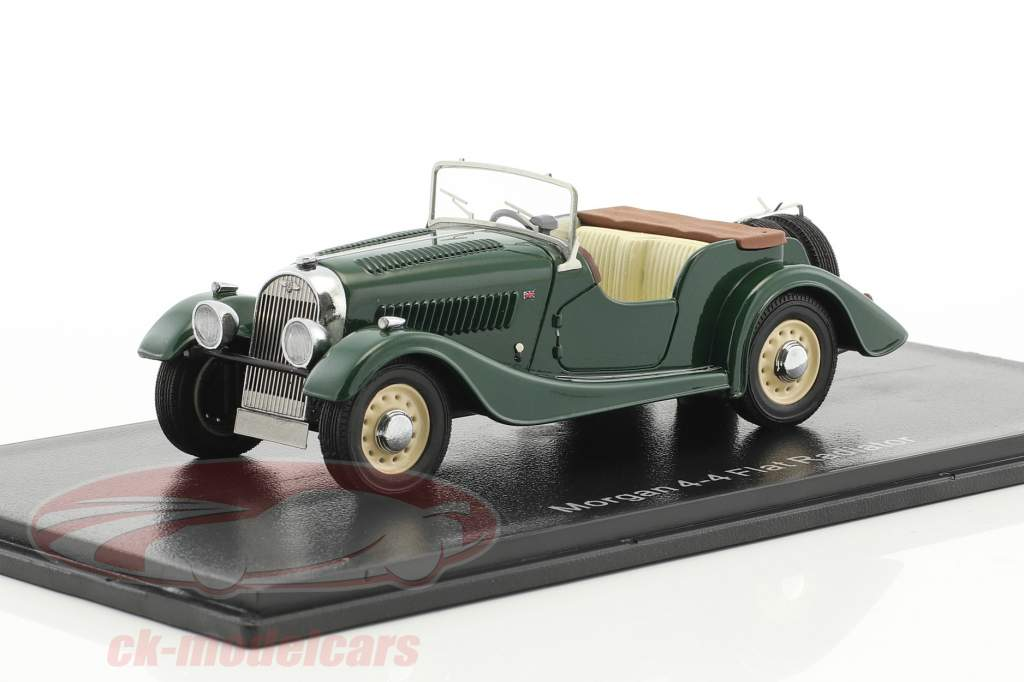 Morgan 4/4 Flat Radiator S1 green 1:43 Neo