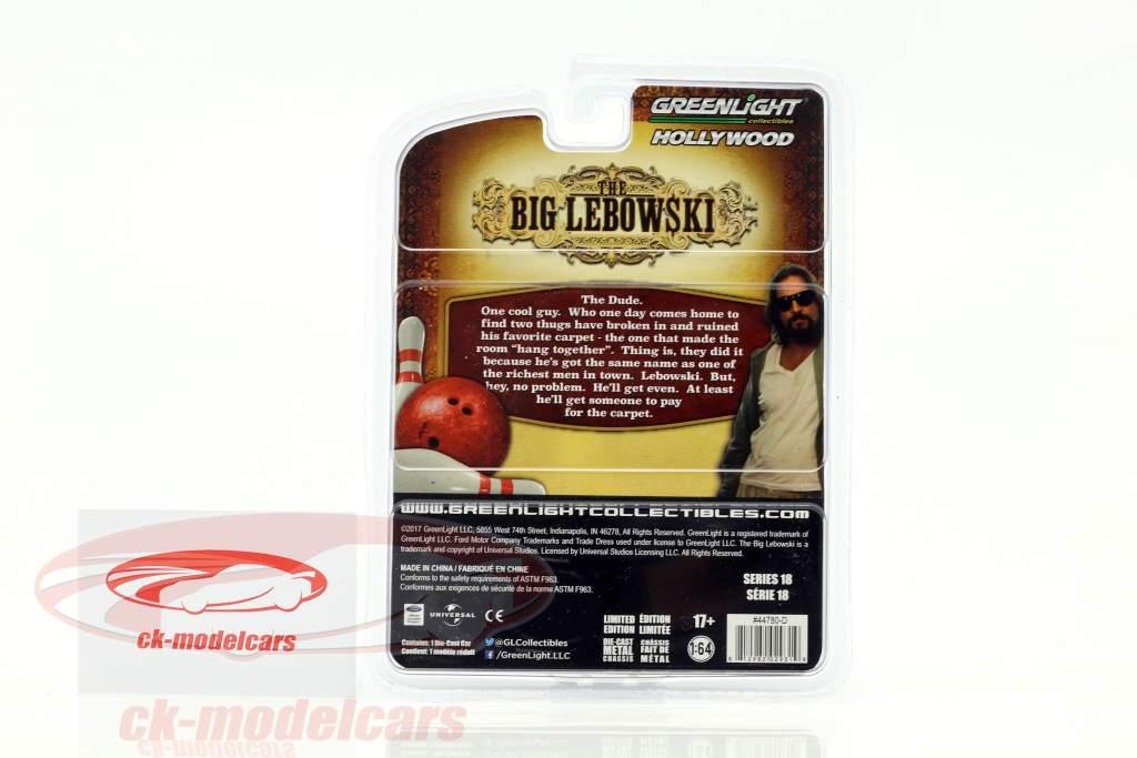 The Dude's Ford Gran Torino year 1973 Movie The Big Lebowski (1998) brown / beige 1:64 Greenlight