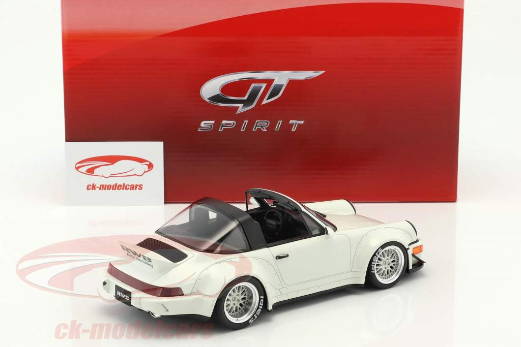 Porsche 911 (964) RWB Targa year 2014 white 1:18 GT-Spirit