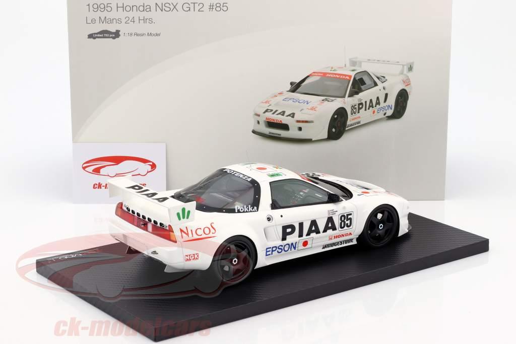 Honda NSX GT2 #85 Qualifying 24h LeMans 1995 Satou, Kurosawa, Tanaka 1:18 True Scale