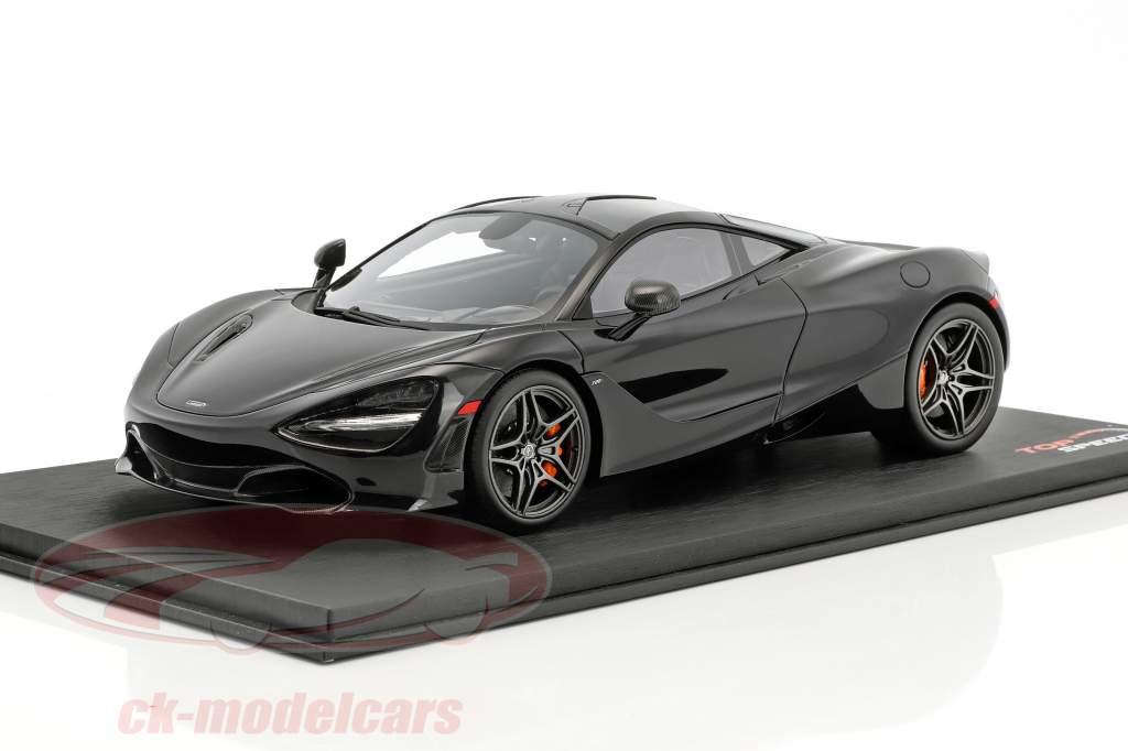 McLaren 720S Baujahr 2017 amethyst schwarz 1:18 True Scale