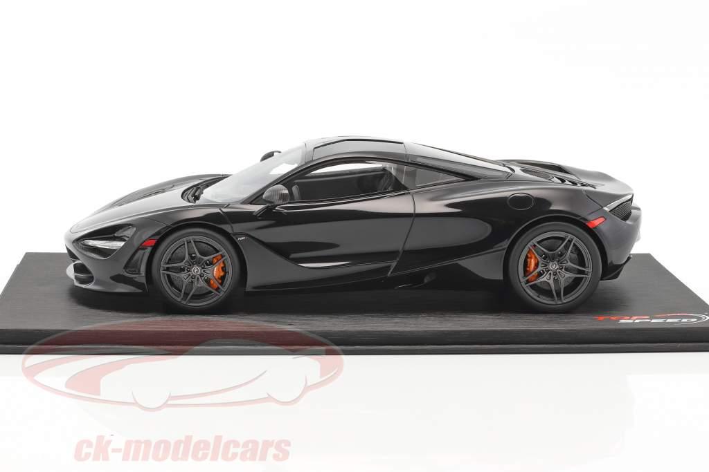 McLaren 720S year 2017 amethyst black 1:18 True Scale