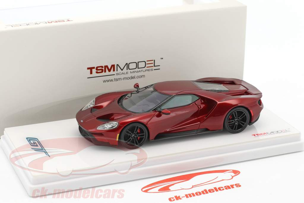 Ford GT Construction year 2016 liquid red 1:43 True Scale