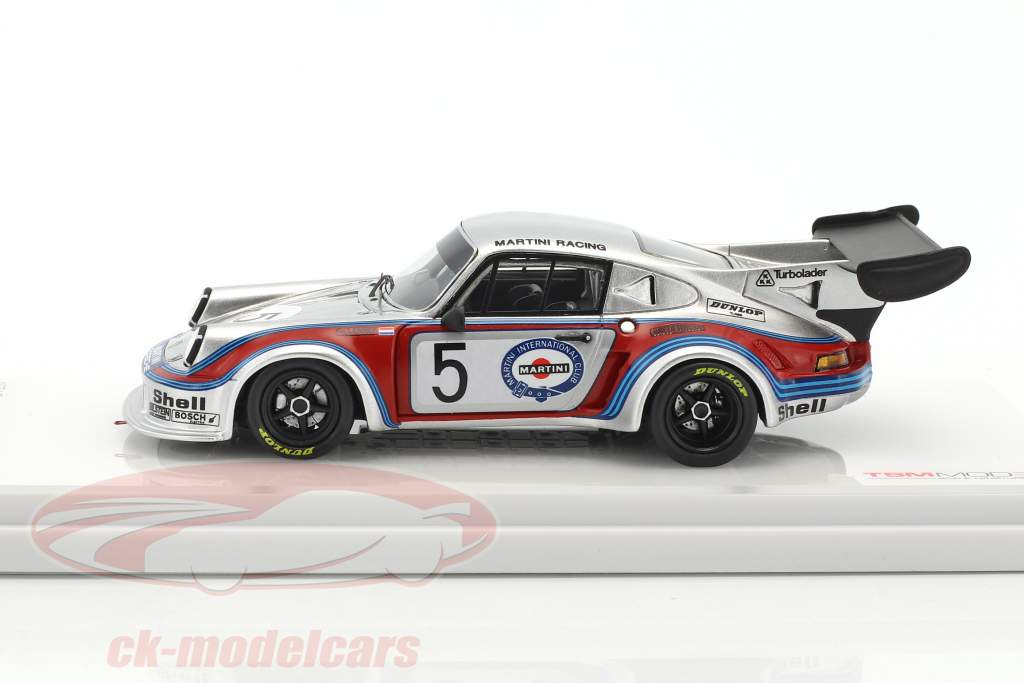 Porsche 911 Carrera RSR Turbo #5 5th 1000km Brands Hatch 1974 Müller, van Lennep 1:43 True Scale