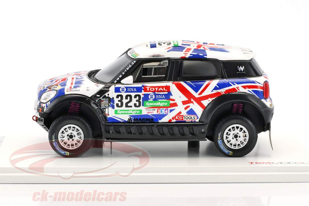 Mini All4 Racing #323 Rallye Dakar 2016 Hunt, Schulz 1:43 True Scale