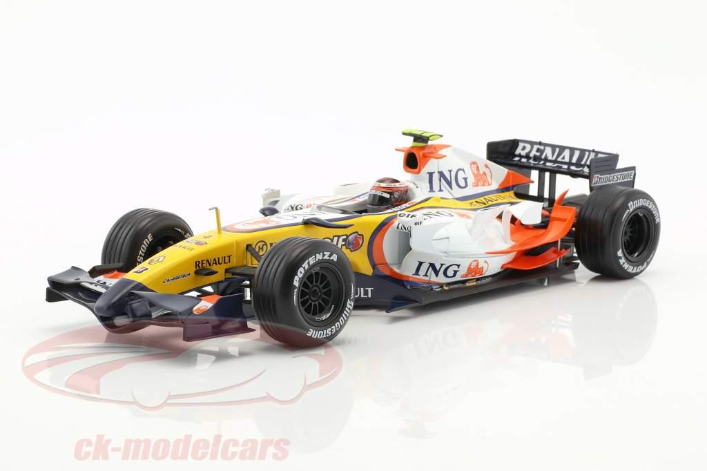 Heikki Kovalainen Renault R27 #4 formule 1 2007 1:18 HotWheels