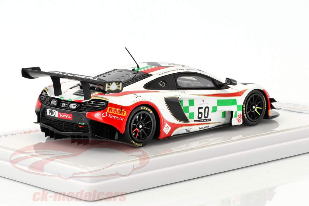McLaren 650S GT3 #60 24h Spa 2016 Senna, Derani, Tappy 1:43 True Scale