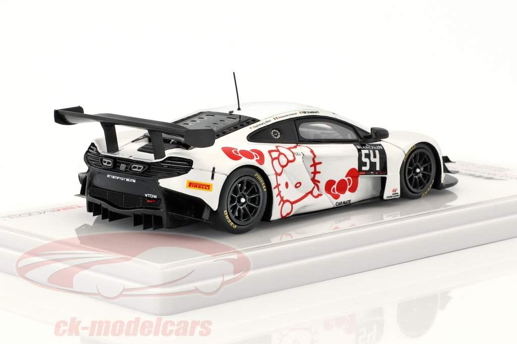 McLaren 650 GT3 #54 Blancpain Monza 2015 Mori, Valori, Balzan 1:43 True Scale