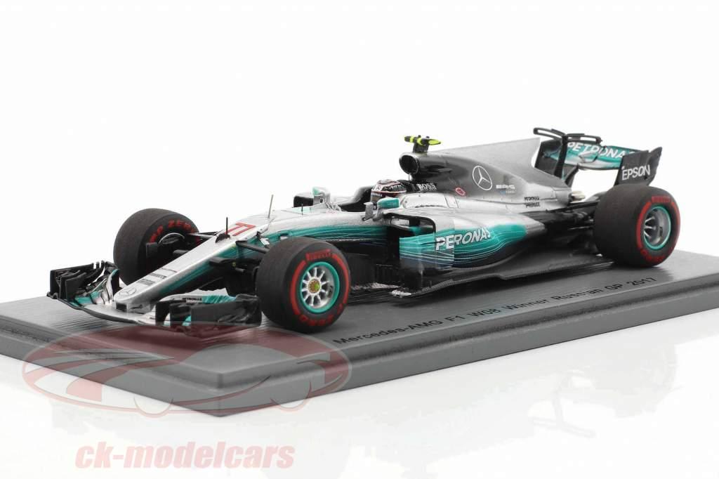 Valtteri Bottas Mercedes AMG F1 W08 #77 Winner russian GP formula 1 2017 1:43 Spark