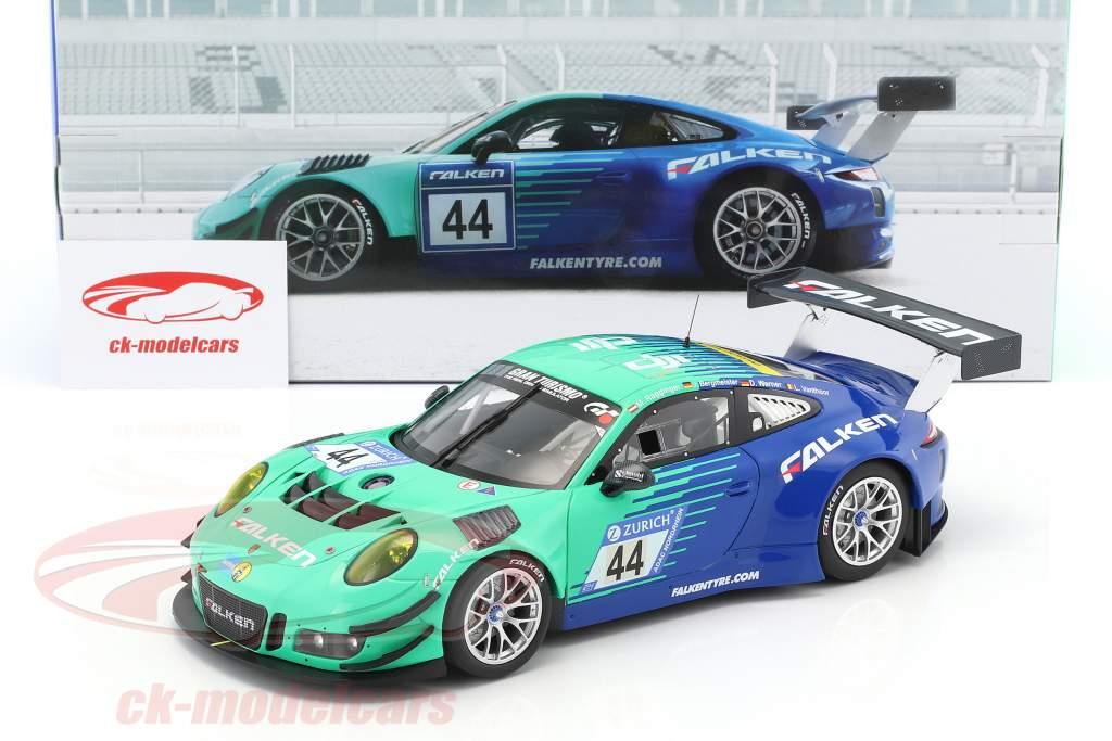 Porsche 911 (991) GT3 R #44 Falken Motorsports 24h Nürburgring 2017 1:18 Minichamps