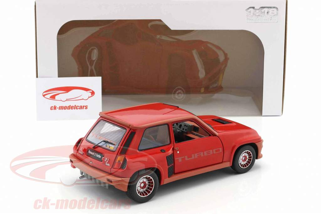 Renault R5 Turbo 1 year 1984 red 1:18 Solido