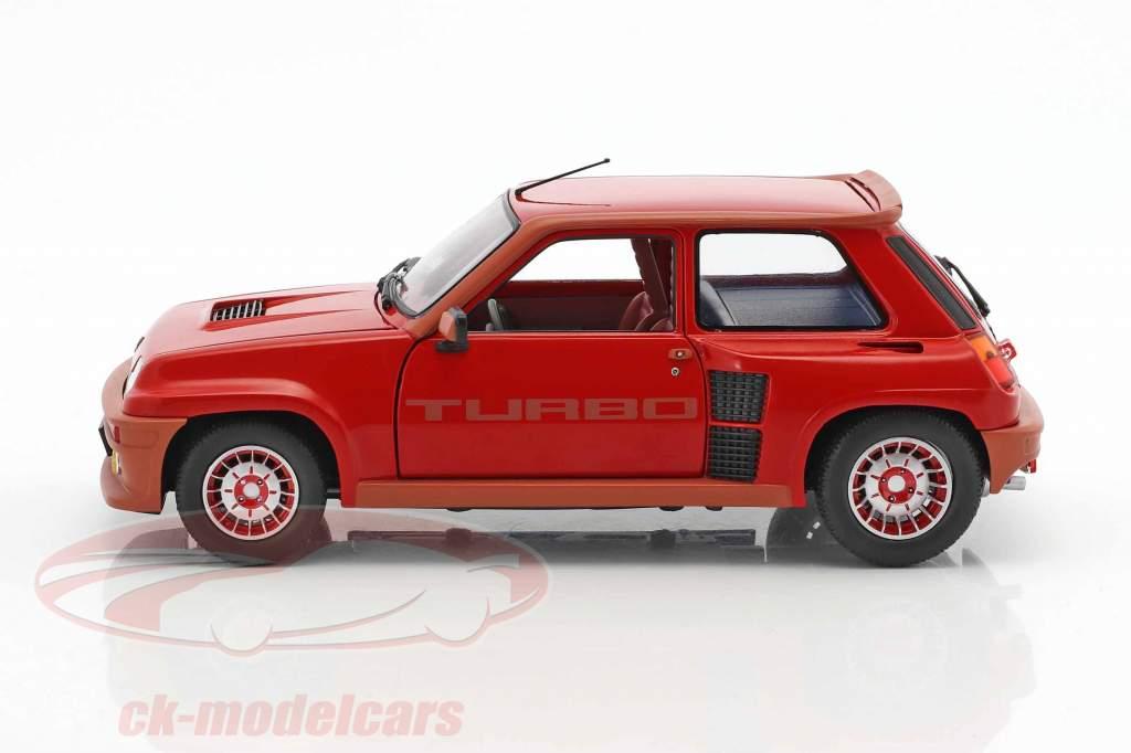 Renault R5 Turbo 1 anno di costruzione 1984 rosso 1:18 Solido