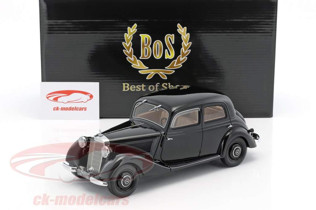 Mercedes-Benz 170 V Baujahr 1939 schwarz 1:18 BoS-Models