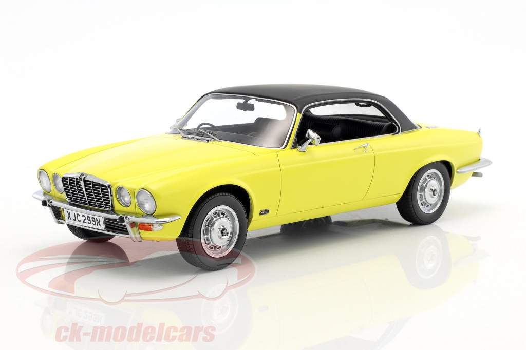 Jaguar XJ 4.2C RHD year 1974 yellow / black 1:18 BoS-Models