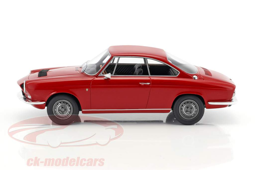 Simca 1200 S Bertone coupe year 1967 dark red 1:18 BoS-Models