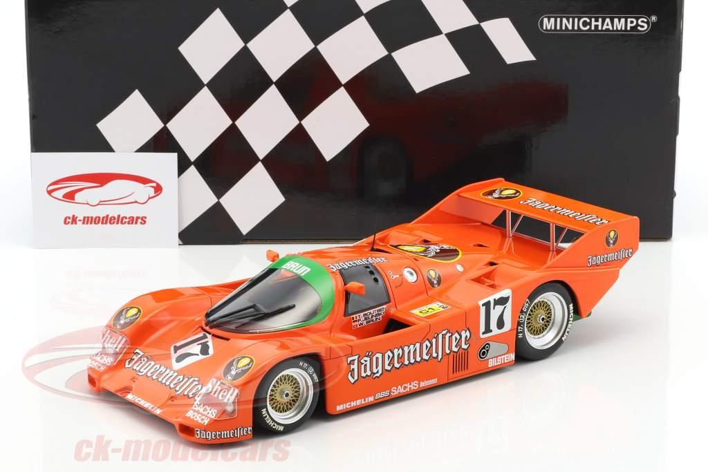 Porsche 962C Jägermeister #17 1000km Spa 1986 Boutsen, Jelinski 1:18 Minichamps