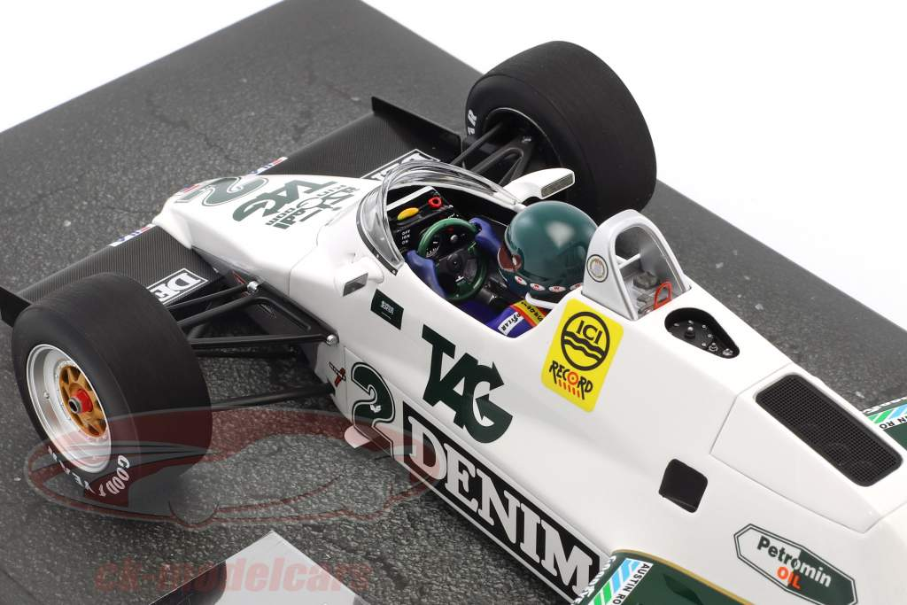 Jacques Laffite Williams FW08C #2 formule 1 1983 1:18 Minichamps