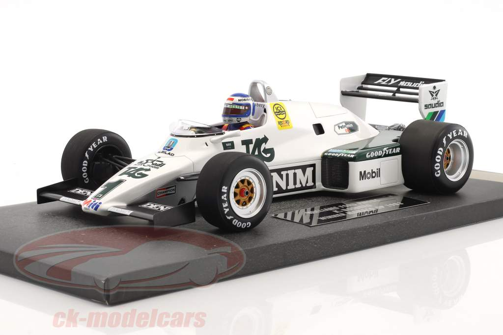Keke Rosberg Williams FW08C #1 Winner monaco GP formula 1 1983 1:18 Minichamps