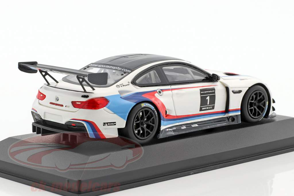 BMW M6 GT3 #1 Presentation Car IAA 2015 1:43 Minichamps