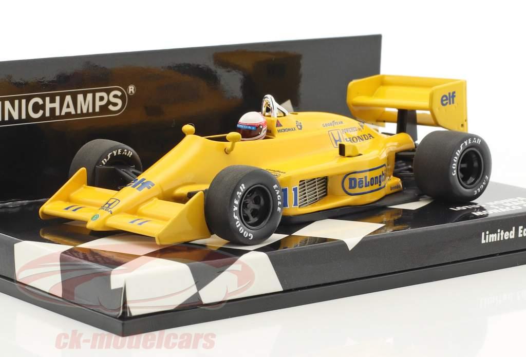 Satoru Nakajima Lotus 99T #11 monaco GP formula 1 1987 1:43 Minichamps