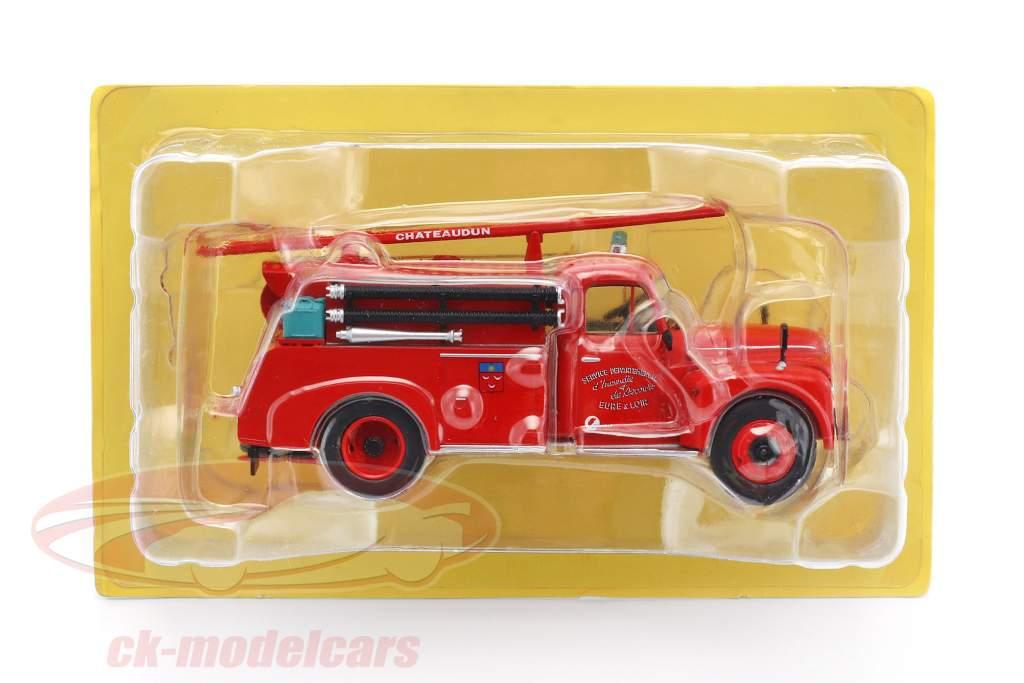 Citroen 46 CD Eure & Loir Fire Department red 1:43 Atlas